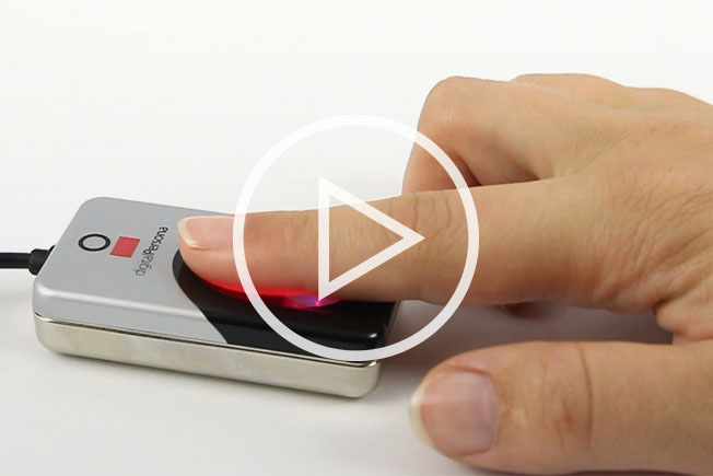 Fingerprint Reader Video